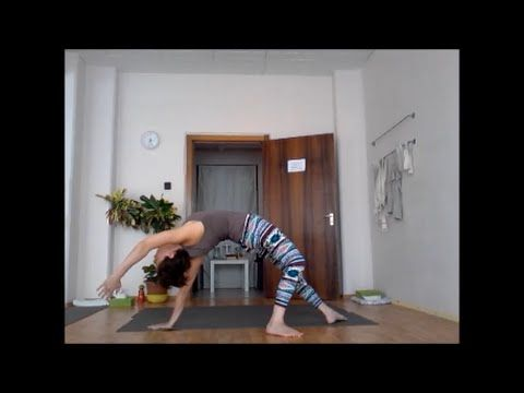 Szokj rá a jógára! (jóga otthon) 24. nap- Váll/mellkasnyitás és hátrahaj...