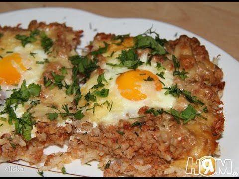 Джамбалайя (рис с фаршем и яйцами запеченные)  Пошаговый рецепт