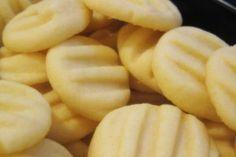 Máslovo vanilkové sušenky ke kávě