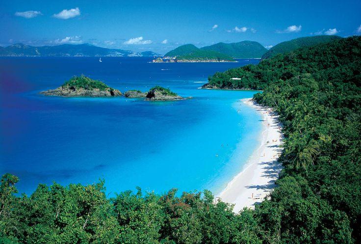 Most Beautiful Beaches In The Caribbean   ... Beaches on St. John, U.S. Virgin Islands - Best St. John, USVI Beaches