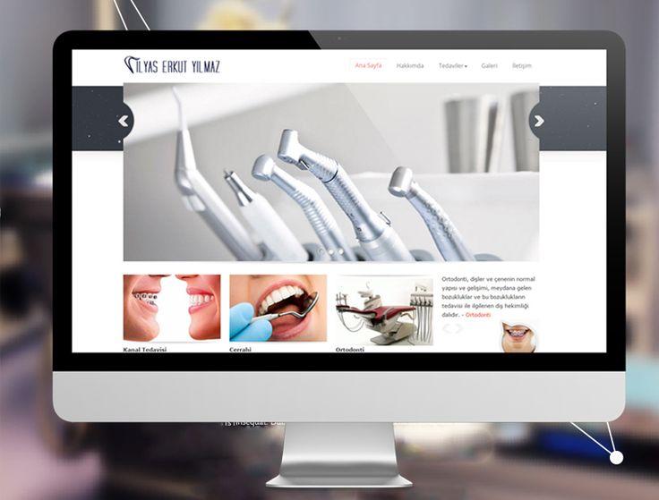 Mersin diş hekimi ilyas erkut yılmaz kurumsal mobil uyumlu web site tasarımı