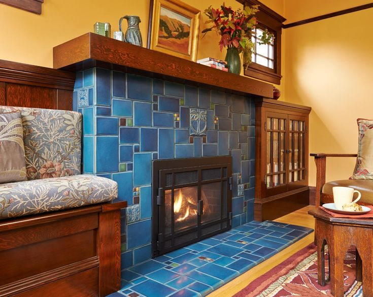 Fireplaces | Custom fireplace, Craftsman fireplace ...