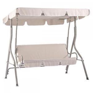 New Beige Canopy Swing Glider Hammock Chair Patio Backyard Porch Furniture SW68. $62.99 on Ebay
