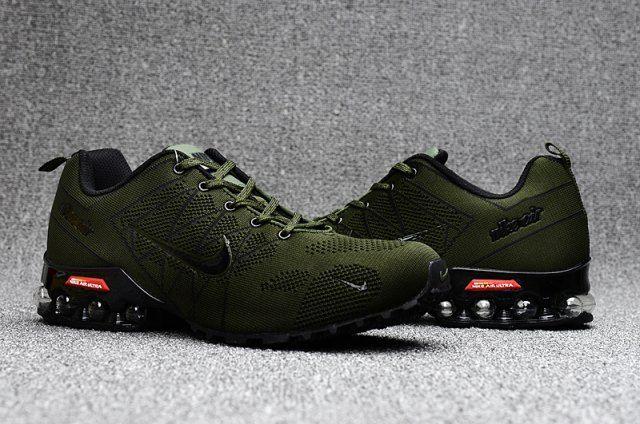 0f551a4ca42 Nike Air Ultra Max 2018. 5 Shox Olive Green Black Mens Running Shoes ...