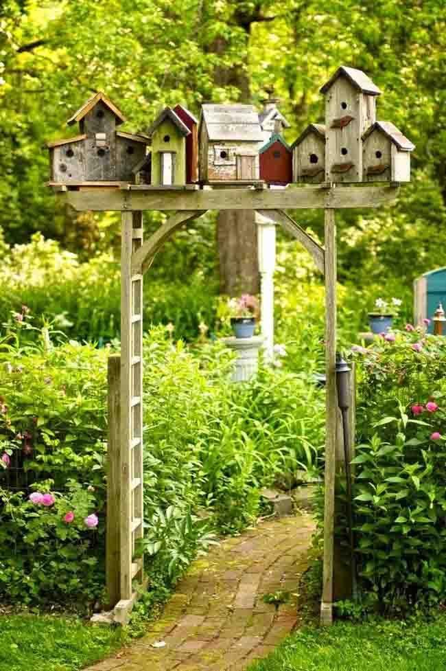How About A Little Bird-house Creativity!