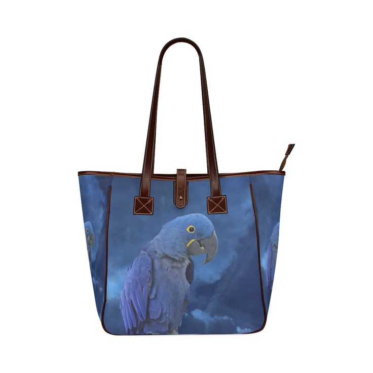 Hyacinth Macaw Classic Tote Bag. FREE Shipping. #artsadd #bags #parrots