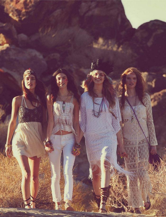 coachella: Desert, Friends, Coachella, Hippie, Outfit, Music Festivals Fashion, Free People, Boho, Lace Dresses