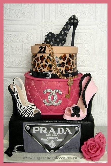 Designer Brand, Stilettos Cake