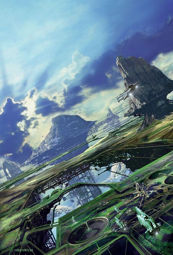Environments by Stephan Martiniere