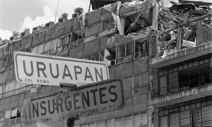 Terremoto de 1985: 30 años en 30 fotos (Galería) - Aristegui Noticias