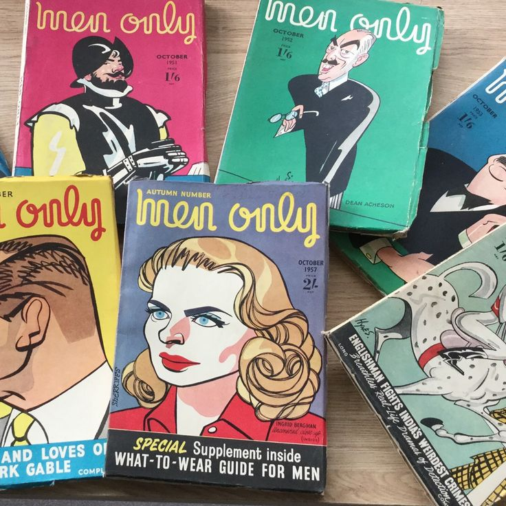 Vintage October magazines added to my shop today, dated from 1948 to 1960, and ideal for birthdays coming up in October. The 1956 'men only' sold almost as soon as it was listed but 1957 & many other years are still available.
