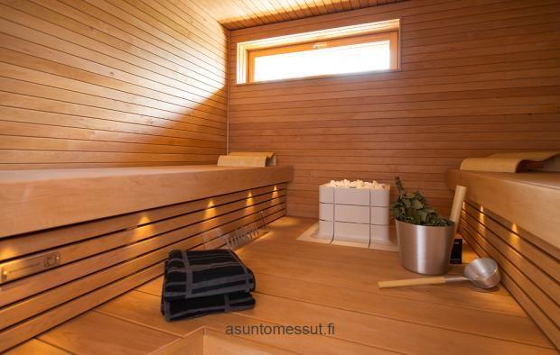 #tulikivi #Nuoska #sauna #saunaheater #integrated #spa