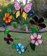 stained glass tulip wreaths - Google Search