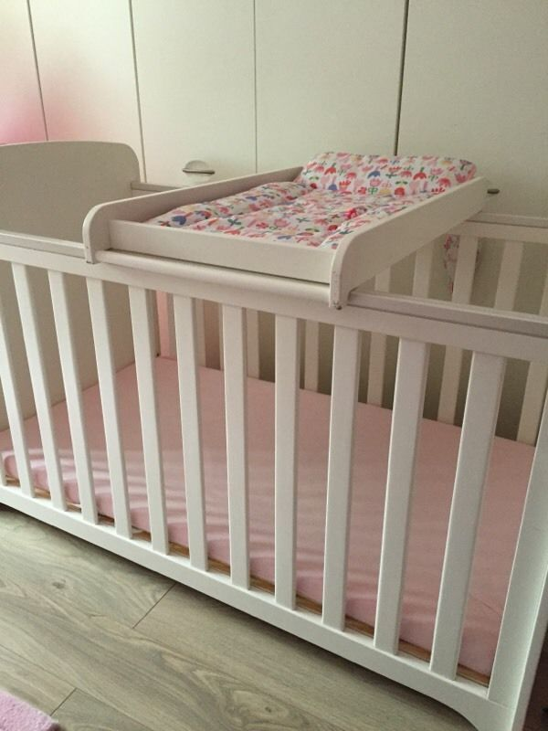 Mamas And Papas White Cot On Gumtree For Baby Bedbaby