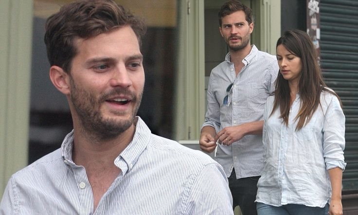 We're expecting! The Fall star Jamie Dornan and wife Amelia Warner step out after confirming her pregnancy