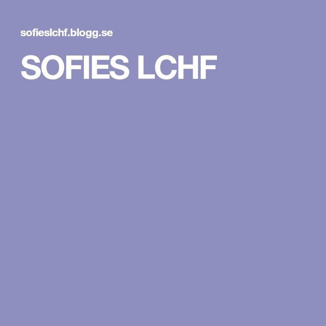 SOFIES LCHF