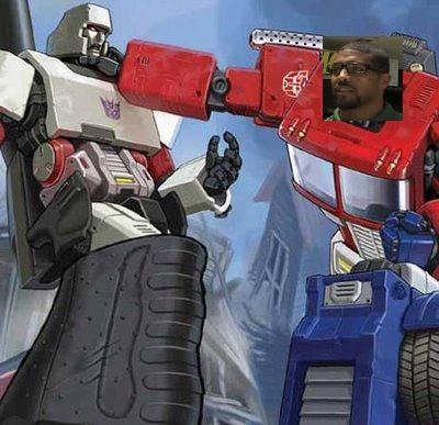 Arian Prime vs Megatron