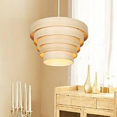 Pendant Lights The Original Wood Color Bamboo Handwork Natural Modern Simple Fashion – USD $ 83.99