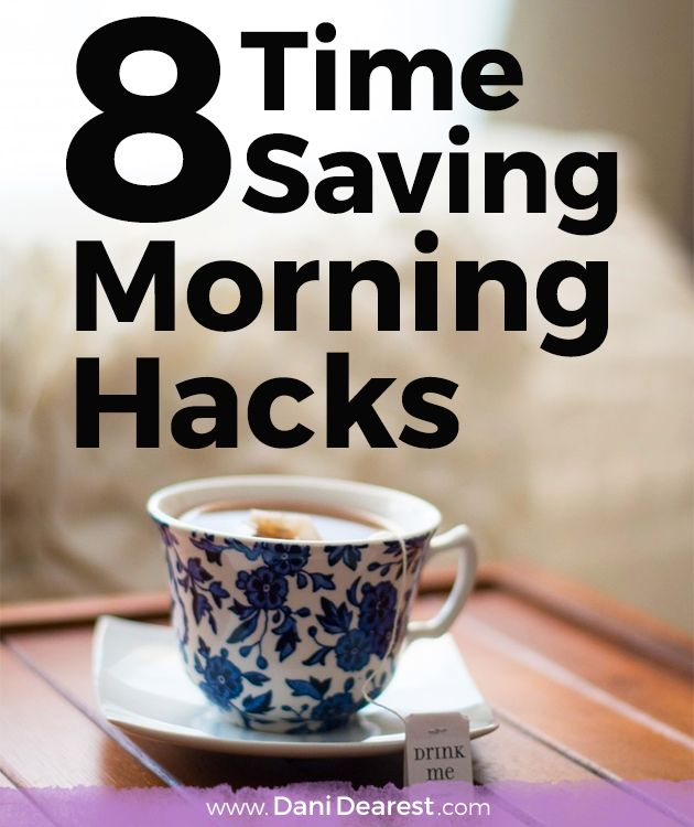 These 8 time saving morning hacks are a must read! From a simple protein packed breakfast to some great ways to speed up your morning beauty routine, these tips will have you hopping out of bed in no time at all. #JimmyDeanDelights #ad @JimmyDean