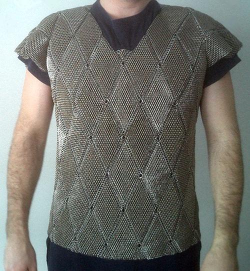 chainmail shirt, dragonskacle diamonds