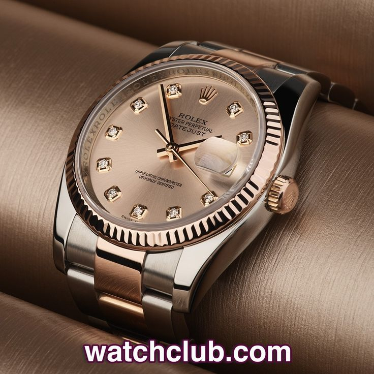 "Rolex Datejust 36mm - Steel & Rose Gold ""Diamond Dial"" REF: 116231 