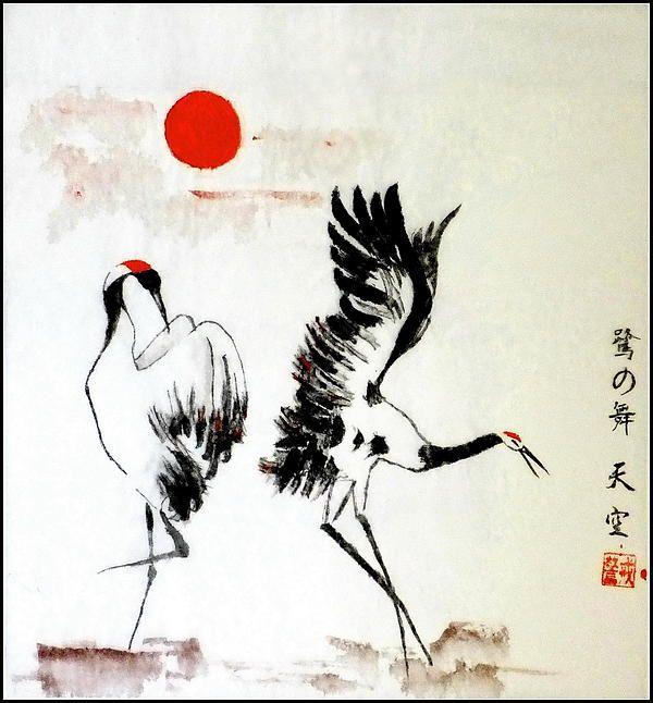 dance of herons