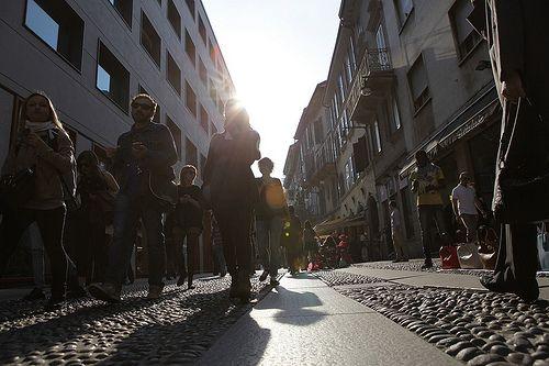 #streets of #milan #brera