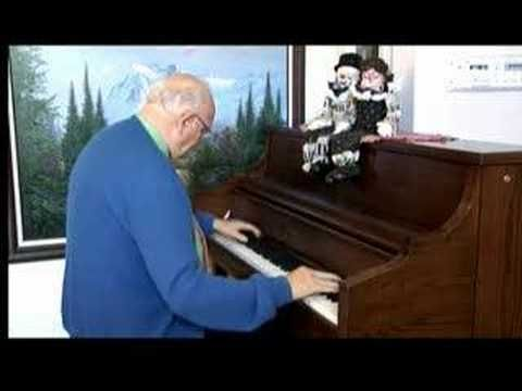 Ragtime Piano Solo of One of the best-known gospel songs in the world, but nobody knows who wrote it.  Billy Pollard plays it on his old ragtime piano, Strolling Down Memory Lane,   Billy & Willie Pollard's Country Gospel TV Program, WillieAndBilly@yahoo.com , http://billyandwillie.tripod.com