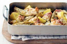 Ovenschotel met witlof en vis - Recept - Allerhande