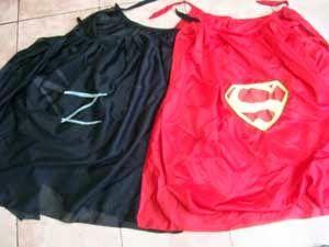 Capas de super héroes