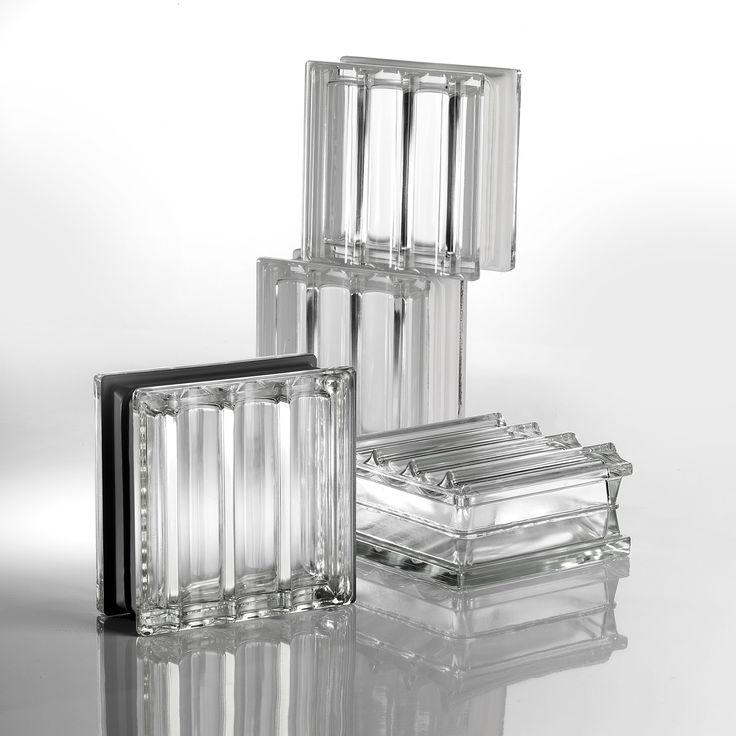 3D Wandblock Aus Glas Für Innen/Außen DORIC By SEVES Divisione Glassblock