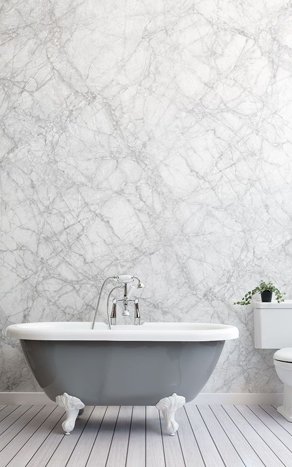White Marble Wallpaper Classic White Design Muralswallpaper Mural Wallpaper Marble Wallpaper Textured Wallpaper