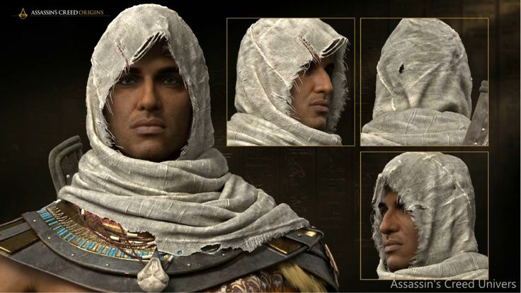 Assassin's Creed Origins Bayek Face