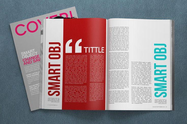 PSD Mockup - 4K Magazine