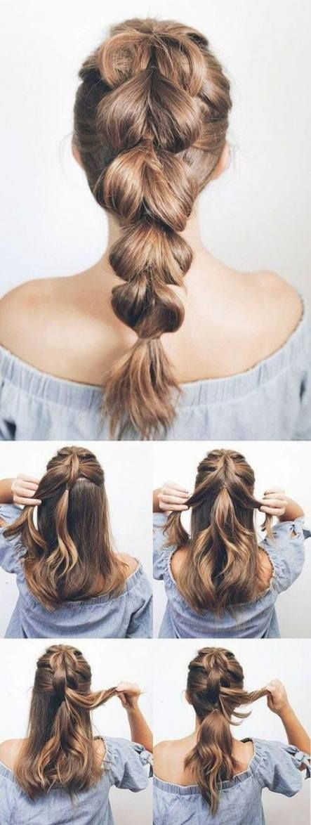 Hairstyles #medium #festive #37 #Trendy #Ideas #- #- # #frisuren