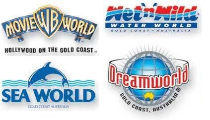 Theme parks - Queensland