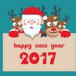 Merry Christmas & Happy New Year 2017 Latest HD Images