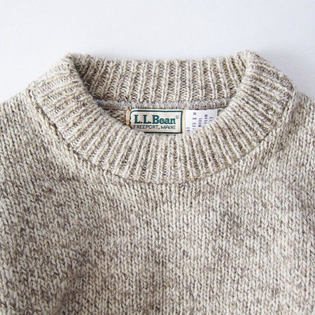 "Been in my life since high school. Gets better with age. | Classic L.L. Bean Boy's ""Rag"" Sweater 