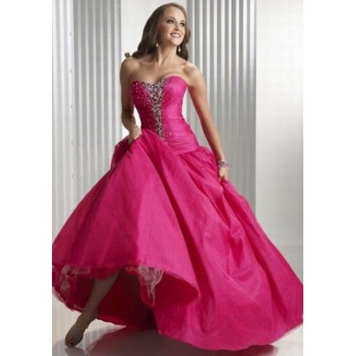 43 best Ballkleider images on Pinterest | Formal prom dresses ...