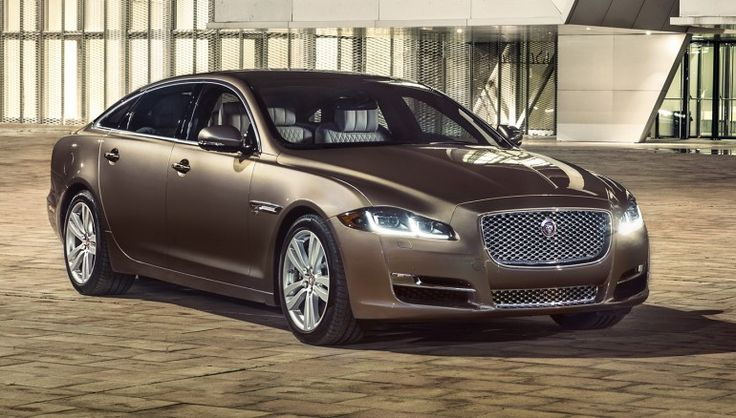 Jaguar XJ   The 10 Classiest Luxury Cars for Being Chauffeured