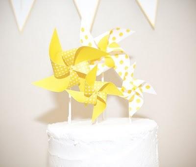 cake topper.Cookies, Windmills Cake, Cake Elizabeth Lockhart, Pinwheels Cake, Pin Wheels, Random Pin, Yummy Cake, Pinwheels Toppers, Cake Toppers