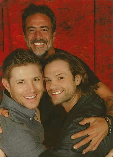Jeffrey Dean Morgan, Jensen Ackles, and Jared Padalecki
