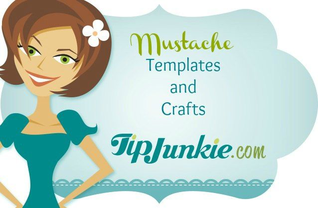 Mustache templates and crafts - so many mustache crafts it will make your upper lip fuzzy!