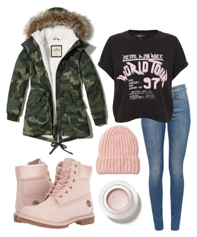 """outfit"" by kwharmony on Polyvore featuring Timberland and Hollister Co."