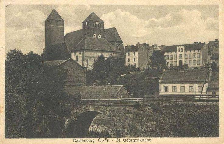 Rastenburg St.Georgkirche.