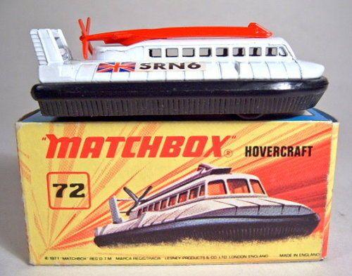 Matchbox SF Nr.72B Hovercraft letze Version ohne Scheiben in Box