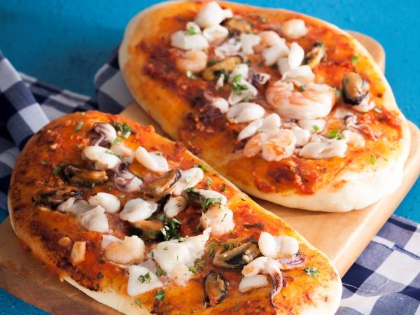 From the YOU kitchen: Seafood focaccia