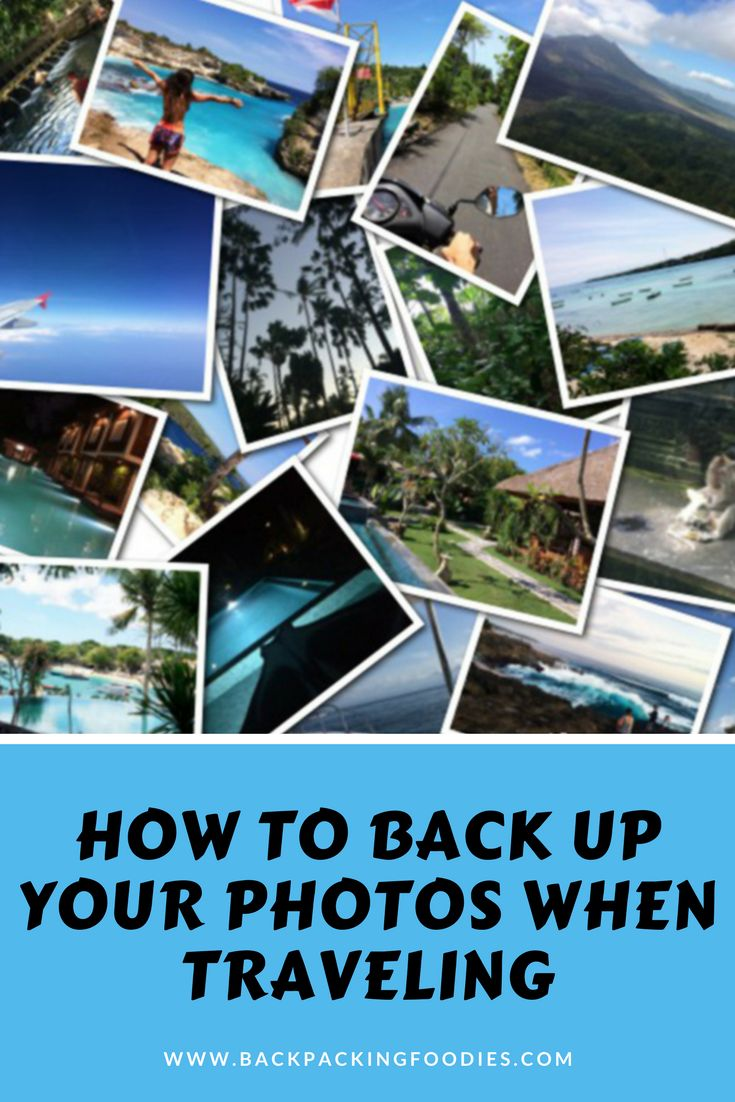 When you are traveling it is important to back up your photos so you don't loose them. Read this guide to learn how to backup photos when traveling.