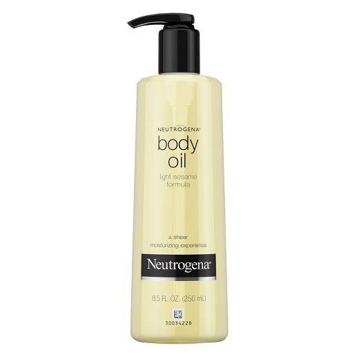 Neutrogena® Light Sesame Formula Body Oil - 8.5 oz : Target