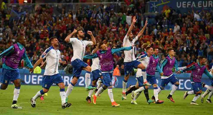 Uefa Euro 2016 Belgium vs Italy Live streaming